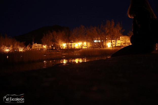La Laguna de Uña por la noche