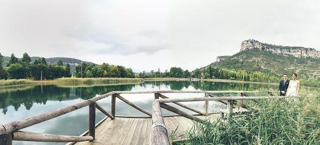 el rincón más romántico en la laguna de Uña