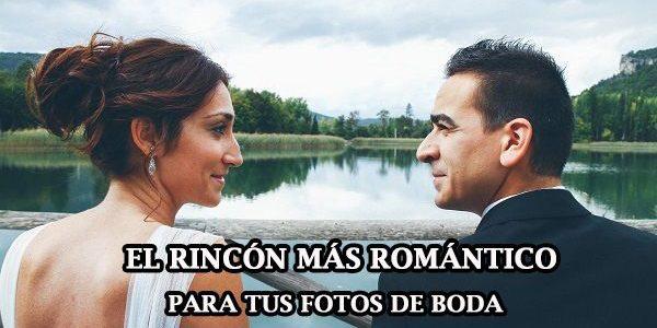 El rincón más romántico para tus fotos de boda