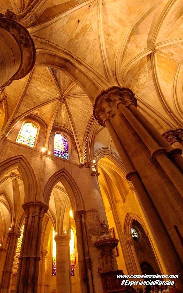 Interior de la catedral de Cuenca
