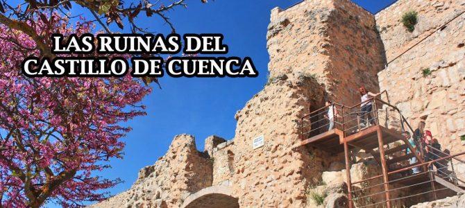 Las ruinas del Castillo de Cuenca, entre dos hoces