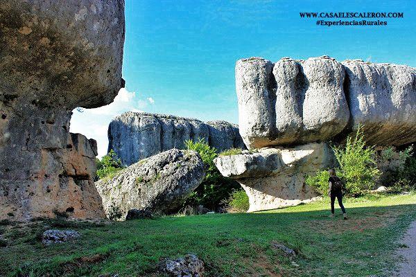 Formaciones rocosas caprichosas de la serrania de cuenca