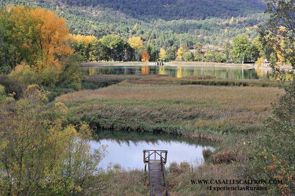 La Laguna de Uña se encuentra a tan sólo unos metros de casa el escalerón