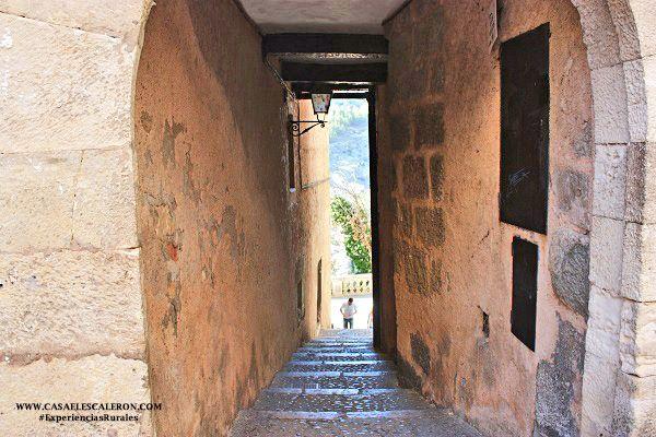 Uno de los accesos al barrio de San Miguel