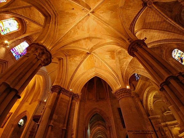 bóvedas de la catedral de cuenca