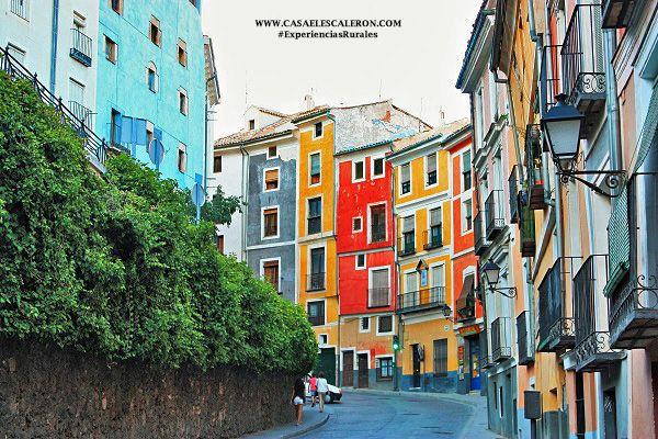 casas de colores en Cuenca