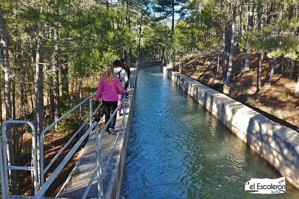 senderismo po el canal de Uña a Villalba de la Sierra