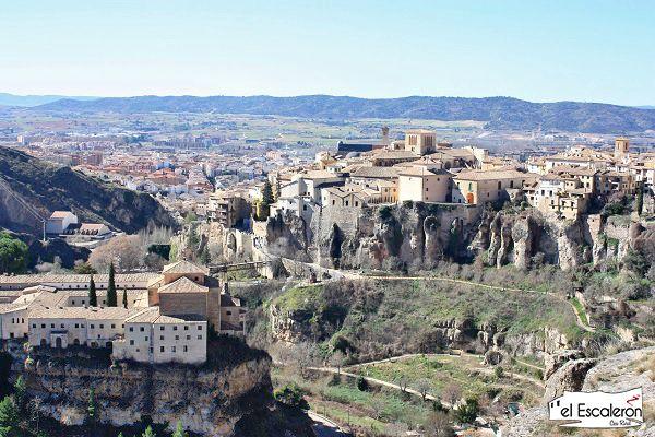 vistas de cuenca desde el castillo