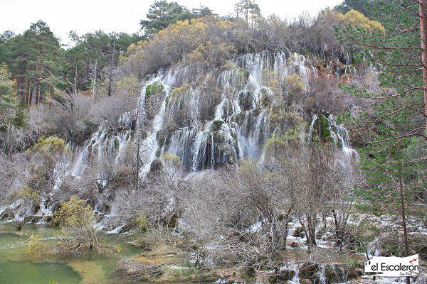 la gran cascada del rio cuervo