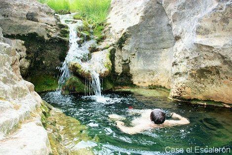 El arroyo de la madera aguas puras y cristalinas casa for Piscinas naturales de cuenca