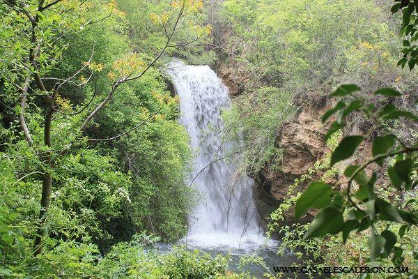 Cascada de Cañete
