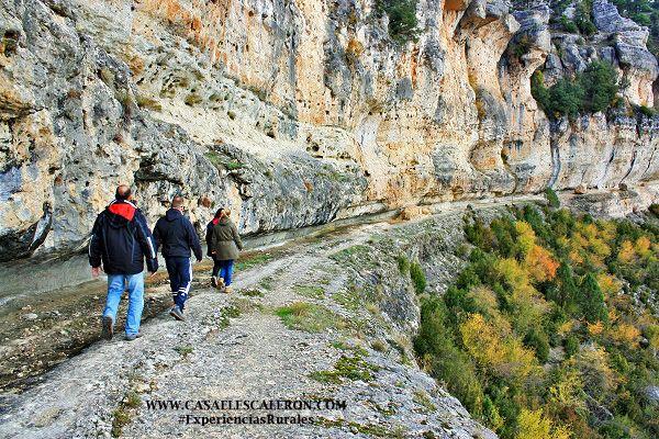 En uña se encuentra la ruta de senderismo más espectacular de la serranía de Cuenca