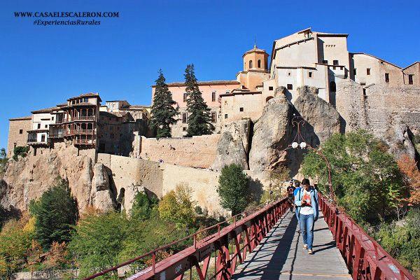 Las Casas Colgadas de Cuenca y el Puente de San Pablo (España)