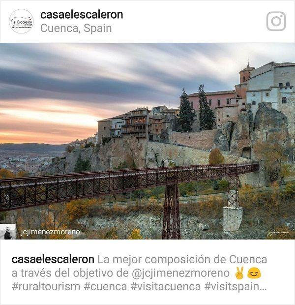 Experiencias rurales en las casas colgadas de Cuenca