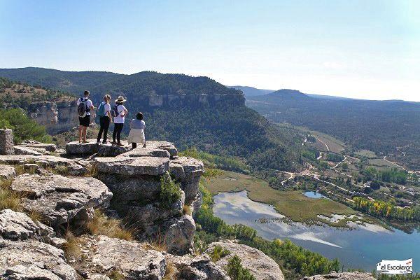 Cerro de san roque, en el pueblo de uña