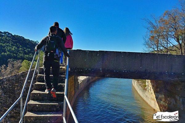 escaleras canal Uña