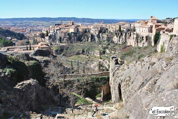 vistas barrio del castillo de Cuenca