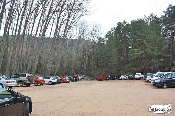 aparcamiento rio cuervo