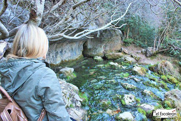 el rio cuervo nace a los pies del cerro de san felipe