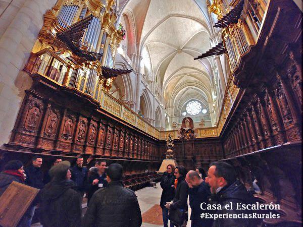 sillería del coro de la Catedral de Cuenca