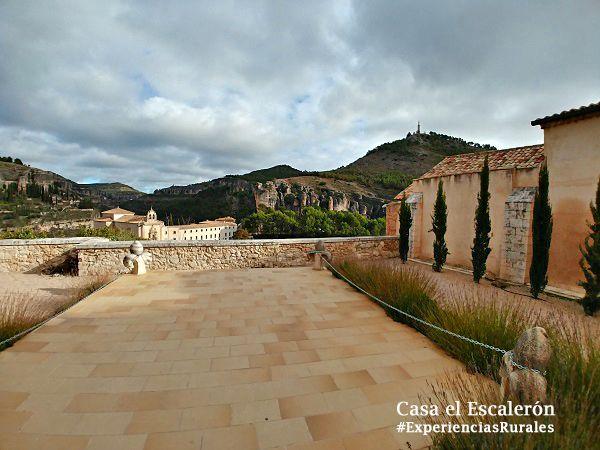 Patio de las Limosnas de la Catedral de Cuenca
