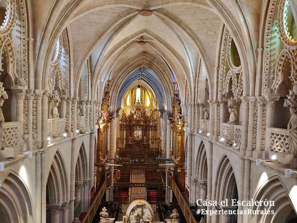 Triforio de la Catedral de Cuenca