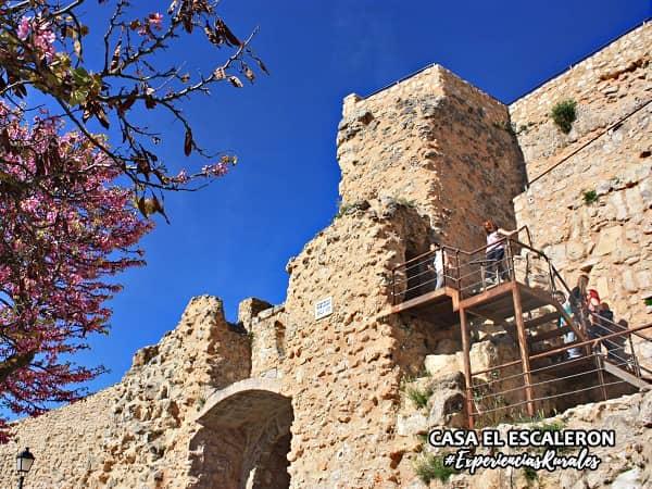Mirador de las ruinas del antiguo castillo